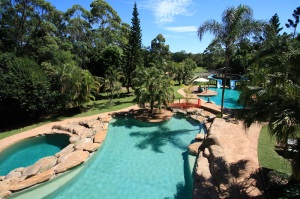 Camp summer Sunshine Coast Queensland