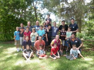 Father and son camps Gold Coast