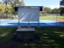 Mapleton's Outdoor Movie Screen