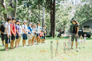 LArge School Campsite Queensland